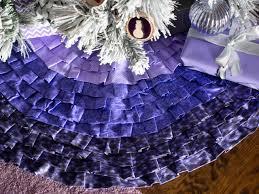 purple christmas tree skirts u2013 happy holidays