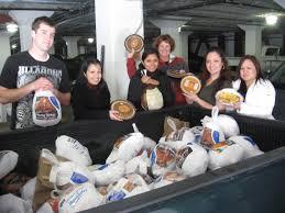thanksgiving dinner drive a success homeless prenatal program