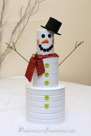 Christmas Home Decor Crafts Brilliant Holiday Decor You Can Make In Minutes Snow Men