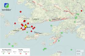 Greece Turkey Map by M U003d6 6 Earthquake Near Greek And Turkish Tourist Hotspots Likely