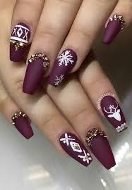 the 25 best burgundy nail designs ideas on pinterest burgundy