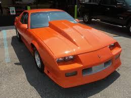 1989 chevy camaro iroc chevrolet camaro hatchback 1989 orange for sale 1g1fp21e3jl145831