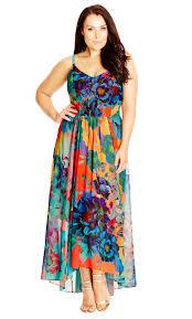 city chic summer days maxi dress women u0027s plus size fashion