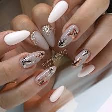 autumn fall nails with glitter leafs u2022 n a i l s u2022 ig