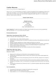 Cashier Job Duties For Resume Resume Sample For Cashier Position Cashier Job Description Resume