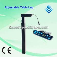 height adjustable desk legs new electric height adjustable desk leg computer desk leg ergonomic