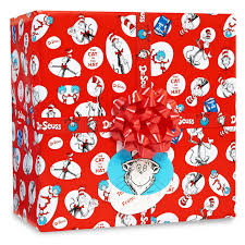 dr seuss jumbo gift wrap birthdays