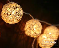 rattan ball fairy lights 20 white ivory rattan ball fairy lights indoor string lights