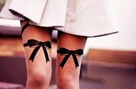 bows on thigh tattoo golfian com