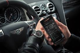 bentley breitling clock an interconnected trio car watch and phone dyler