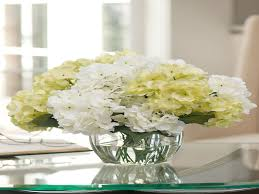 hydrangea centerpieces floral arrangements for living room awesome silk hydrangea