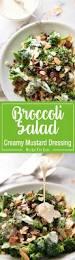 Cold Pasta Salad Dressing Broccoli Salad With Sour Cream Dressing Recipetin Eats