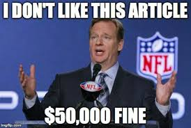 Roger Goodell Memes - national football lynch mob the michigan review