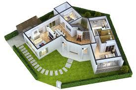 modern house floor plans marvellous modern house floor plans 3d 14 3d plan design