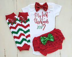 my christmas baby girl items similar to christmas baby girl 1st christmas
