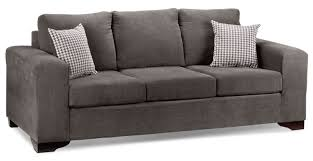 Pillow Back Sofas by Fava Sofa Grey Leon U0027s