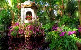 photo collection flower garden screensavers wallpaper