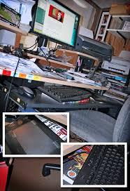 Proper Computer Desk Setup Ergonomic Tricks For Graphic Designers Artists And Office