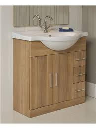 Oslo Bathroom Furniture Oslo Oak Vanity Sink Bathroom Unit Design Featuring Wheat Oak Wood