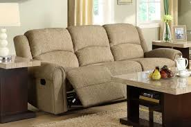 Chenille Sofa by Homelegance Esther Reclining Sofa Set Beige Chenille U9712be 3