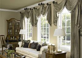 window treatments balloon curtains for collection with living room