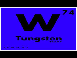 Periodic Table Tungsten Study Guide 74 Tungsten Periodic Table Of Elements Youtube