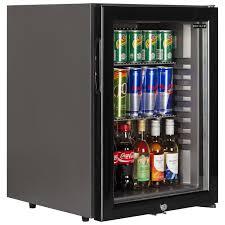 mini bar refrigerator glass door tm52g black glass door mini bar
