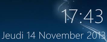 horloge de bureau windows affichage anormal des gadgets