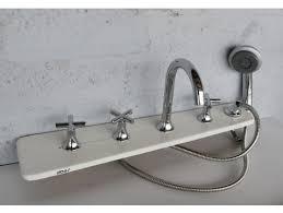 shower attachment for bathtub faucet 5 piece tub faucet w extendable shower head bathtub mounted