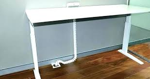 under table cable tray under desk cable management home desk ideas
