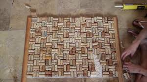 Cork Backsplash Tiles by Diy Kitchen Wine Cork Backsplash U0026 Chalkboard On Vimeo