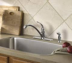 moen torrance kitchen faucet moen torrance one handle kitchen faucet at menards
