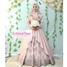 wedding dress syari paket pernikahan islami terbaik wedding syari katering halal