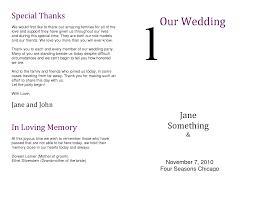 wedding program wording ideas wedding ideas wedding ideaseautiful reception program sle