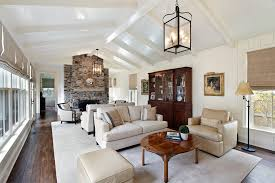 Cathedral Ceilings In Living Room Cathedral Ceiling Decorating Ideas Living Room Traditional With