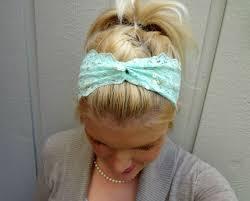mint green headband whats trrending