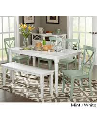 sweet deal on simple living 6 piece albury dining set with dining