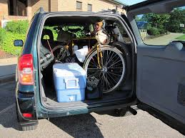 suv toyota inside hauling two bikes inside my how to mtbr com