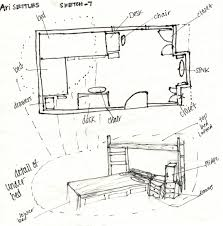 How To Draw A Bed How To Draw A Floor Plan By Hand Ahscgs Com