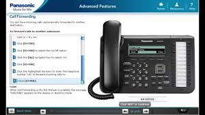 call forwarding and do not disturb on your panasonic kx ut133