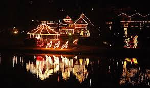 lights are still up for you to enjoy at chetola resort in blowing