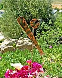 Sheet Metal Garden Art - bat metal outdoor sculpture by henry dupere bat art