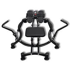 Chair Cardio Exercises Hydraulic Rowing Machine Cardio Exercise Dual Motion Adjustable