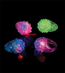 glow in the party supplies 2018 led light up jelly rings party favors glow blinking finger
