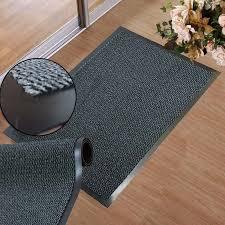 Rubber Backed Carpet Runners Doormats Large Grey Rubber Door Entrance Barrier Mat Mats Heavy Duty Hard