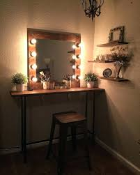 Rustic Vanity Table Rustic Makeup Vanity Best Rustic Makeup Mirrors Ideas On