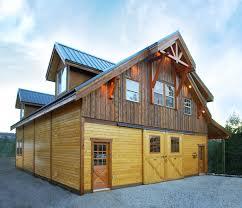 garage apartment barnpros with loft the denali