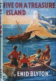 treasure island book report five on a treasure island by enid blyton