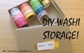 What Is Washi Tape Diy Washi Tape Storage Birchbox Upcycling Project Youtube