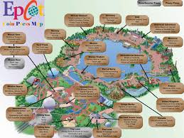 Printable Map Of Disney World by Printable Map Of Epcot Printable Maps